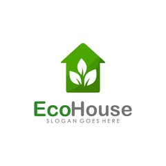 Eco green logo design