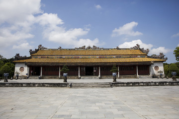 Royal Palace in Hue, Vietnam