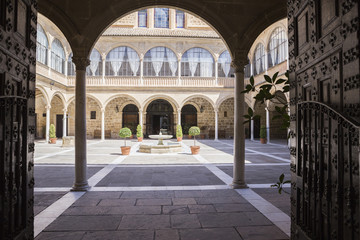 Hospital of Santiago, considered 'the Andalusian Escorial' Escorial style building, Ubeda, Spain