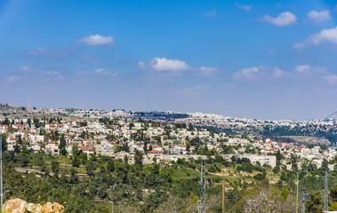 View of Mevaseret Zion Jerusalem