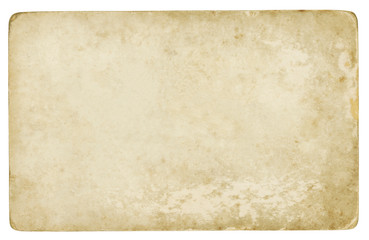 Old paper background (isolated - clipping path included)
