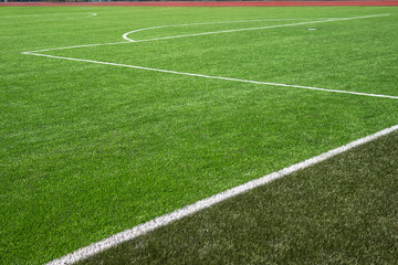 Soccer football field turf