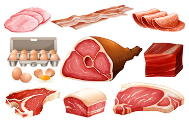 Fresh ingredient for meat products
