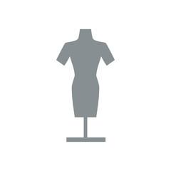 Manikin model clothes icon vector illustration graphic design