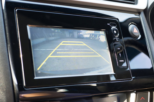 Car Rear View System Monitor reverse