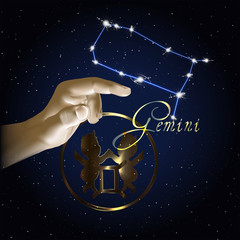 Gemini Astrology constellation of the zodiac