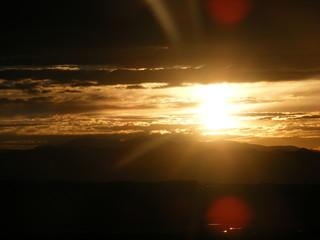 Colorado Mountain Sunset