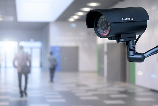 Security camera in the corporation