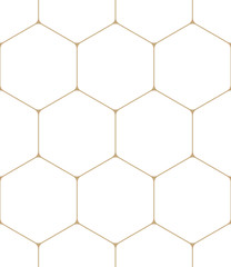 geometric hexagon minimal grid graphic pattern background