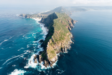 Cape Point (South Africa) aerial view