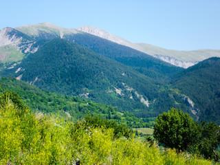 Montañas del pirineo