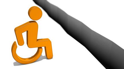 Ausgrenzung durch Behinderung