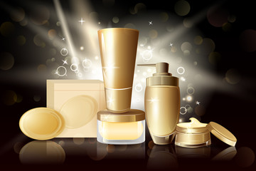 Collection of Premium brand of cosmetic product