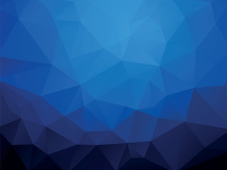 dark blue ocean geometric wallpaper background