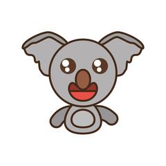 koala baby animal kawaii design vector illustration eps 10