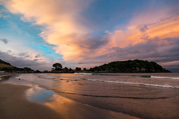Bay Of Plenty sunset