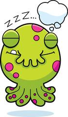 Cartoon Monster Dreaming