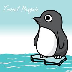 cute penguin cartoon vector character