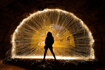 Wall Mural - Chicago Steel Wool