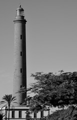 Lighthouse of Maspalomas, Gran canaria, Canary islands