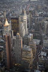 Sunset in Manhattan