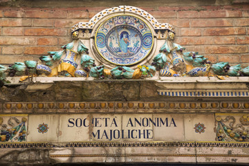 Deruta, città della ceramica, Perugia, Umbria