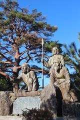 高千穂町 三神像