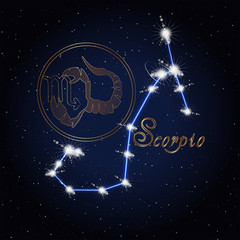 Scorpio Astrology constellation of the zodiac