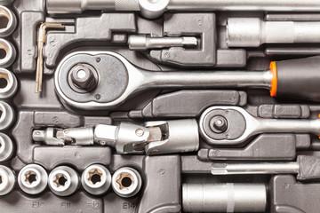Toolbox car tools kit