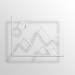 Image 3D Paper Icon Symbol Business Concept