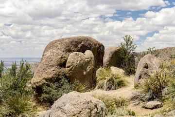 Sandia Mountains in Albuquerque, New Mexico