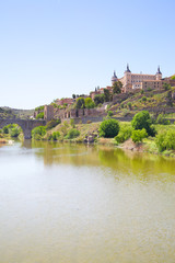 Wall Mural - Toledo and Tagus river