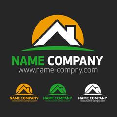 logo toiture maison