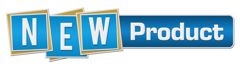new product blue orange squares bar buy this stock illustration