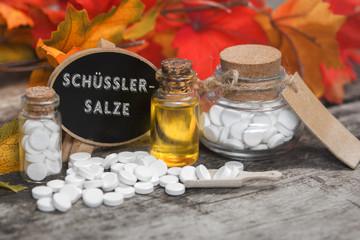 Schüssler Salze Herbstflair und Baumrinde