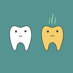 Teeth good and bad