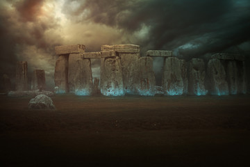Magical stones of Stonehenge
