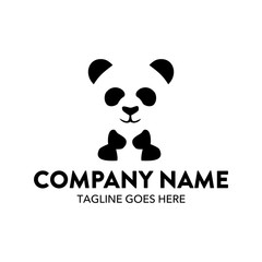 Unique Panda Logo