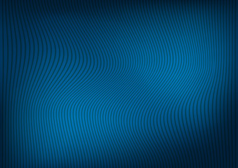 Abstract dark blue background with a pattern of curved lines