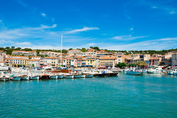 Port of Cassis, Provence, France