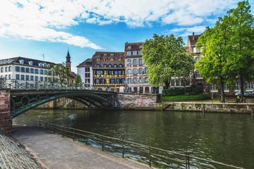 Petite France district, Strasbourg, Alsace, France