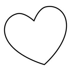 heart love card isolated icon vector illustration design