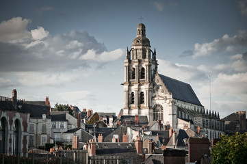 Blois Cathedral, Loire Valley, France