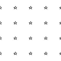 Hand Drawn Stars Seamless Pattern