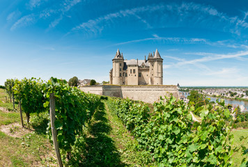 Chateau de Saumur, Loire Valley, France