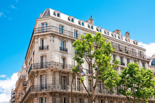Parisian building, France