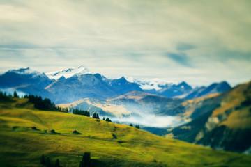 Alpine Landscape Fototapete