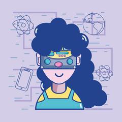 3d eyeglasses virtual experience game