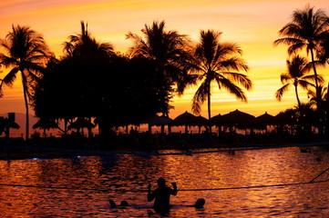 Sunset of Vallarta