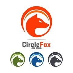 Fox Logo Vector Template